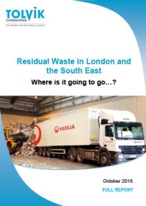 Residual Waste in London and the South East – Where is it going to go?