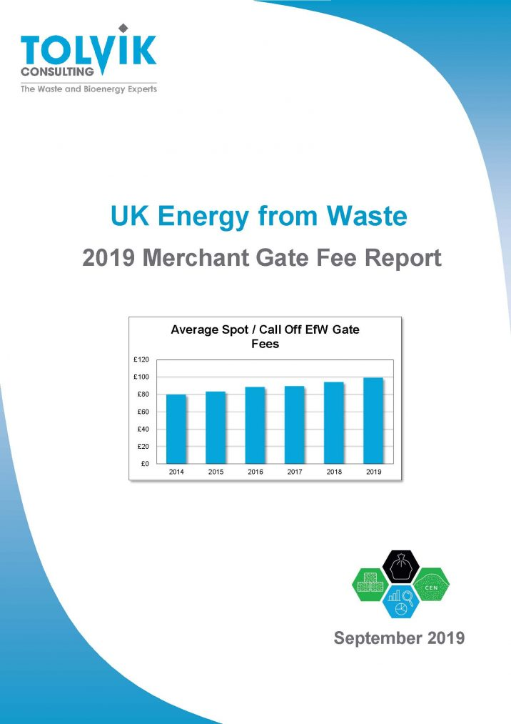 Report release: UK EfW - Merchant Gate Fee report