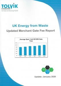 UK Energy from Waste - Merchant Gate Fee Report