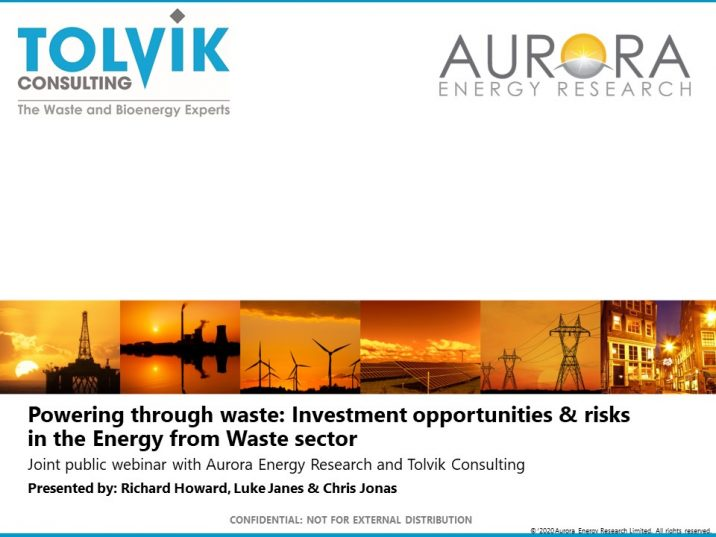 Joint webinar with Aurora Energy Research